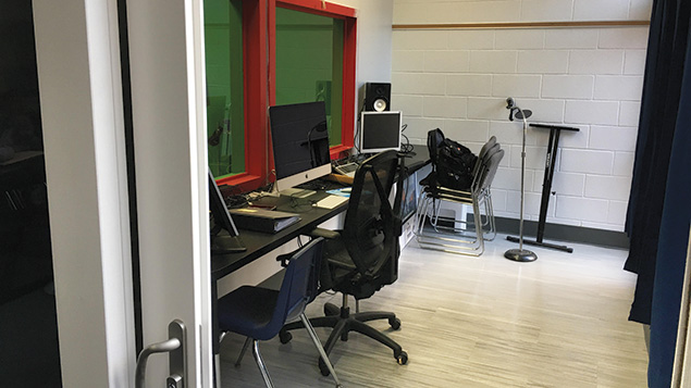 Over the summer, Moriah's audio visual center was upgraded, and new equipment was added.