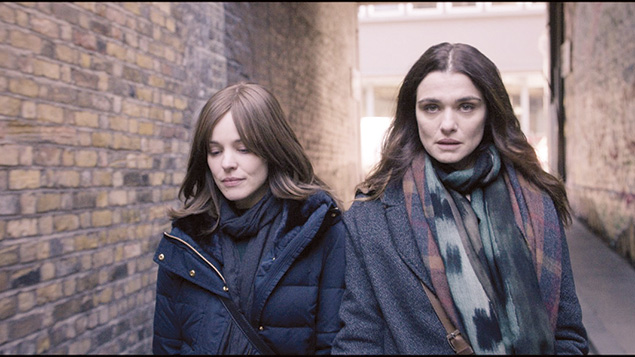 "Rachel Weisz and Rachel McAdams head the cast of ""Disobedience"" from British director Sabastian Lello."