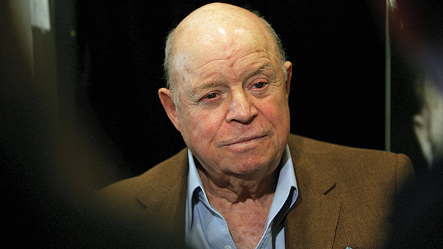 Comedian Don Rickles at Book Soup in West Hollywood, California, in 2007. (Mark Mainz/Getty Images)