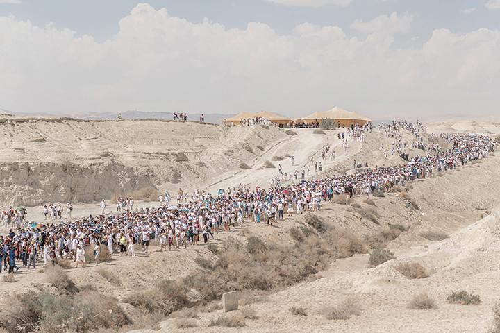 The two-week walk took thousands of women across Israel.