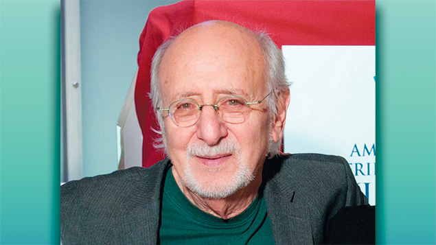 Musical guest Peter Yarrow of Peter, Paul and Mary
